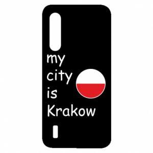 Etui na Xiaomi Mi9 Lite My city is Krakow