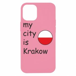 Etui na iPhone 12 Mini My city is Krakow
