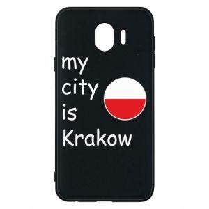 Etui na Samsung J4 My city is Krakow