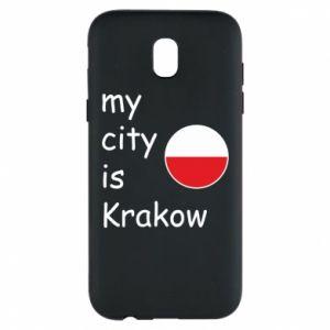 Etui na Samsung J5 2017 My city is Krakow