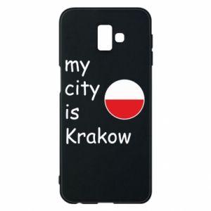 Etui na Samsung J6 Plus 2018 My city is Krakow