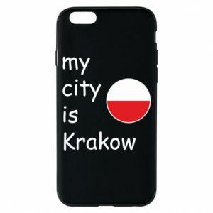 Etui na iPhone 6/6S My city is Krakow
