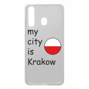Etui na Samsung A60 My city is Krakow