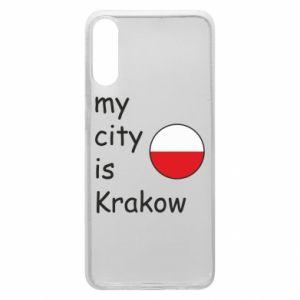 Etui na Samsung A70 My city is Krakow