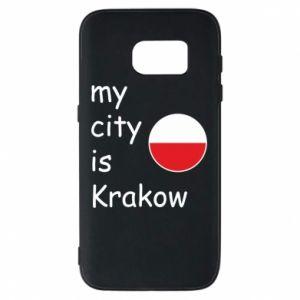 Etui na Samsung S7 My city is Krakow