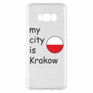 Etui na Samsung S8 My city is Krakow