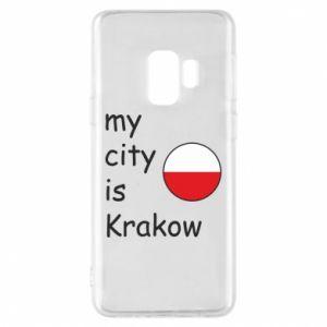 Etui na Samsung S9 My city is Krakow