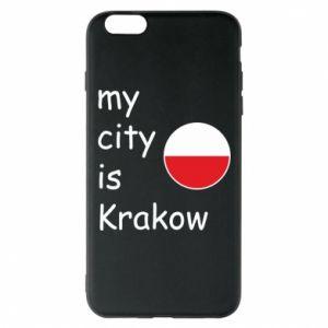 Etui na iPhone 6 Plus/6S Plus My city is Krakow