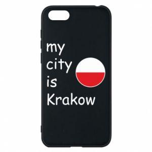 Etui na Huawei Y5 2018 My city is Krakow