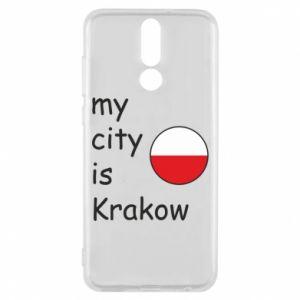Etui na Huawei Mate 10 Lite My city is Krakow