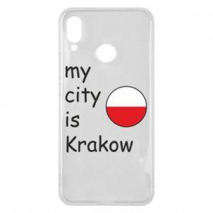 Etui na Huawei P Smart Plus My city is Krakow