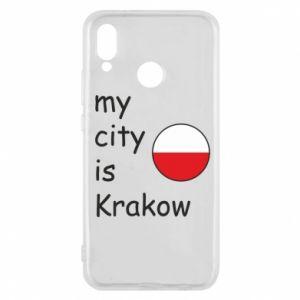 Etui na Huawei P20 Lite My city is Krakow