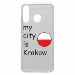 Etui na Huawei P30 Lite My city is Krakow