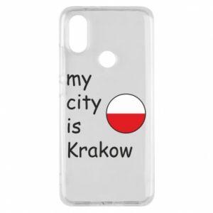 Etui na Xiaomi Mi A2 My city is Krakow