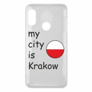 Etui na Mi A2 Lite My city is Krakow