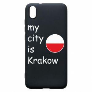Etui na Xiaomi Redmi 7A My city is Krakow