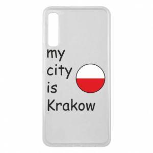 Etui na Samsung A7 2018 My city is Krakow
