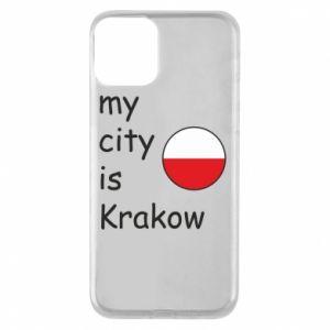 Etui na iPhone 11 My city is Krakow