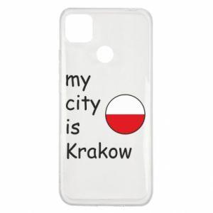 Etui na Xiaomi Redmi 9c My city is Krakow