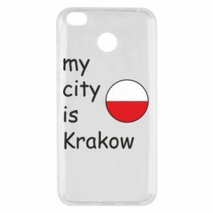 Etui na Xiaomi Redmi 4X My city is Krakow
