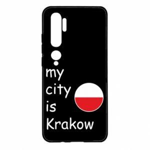 Etui na Xiaomi Mi Note 10 My city is Krakow