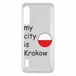 Etui na Xiaomi Mi A3 My city is Krakow