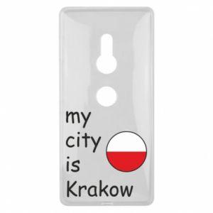 Etui na Sony Xperia XZ2 My city is Krakow