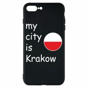 Etui na iPhone 8 Plus My city is Krakow