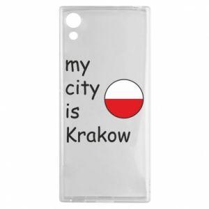 Etui na Sony Xperia XA1 My city is Krakow