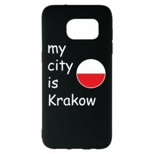 Etui na Samsung S7 EDGE My city is Krakow