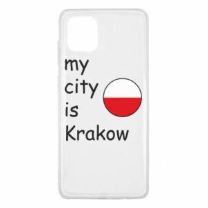 Etui na Samsung Note 10 Lite My city is Krakow
