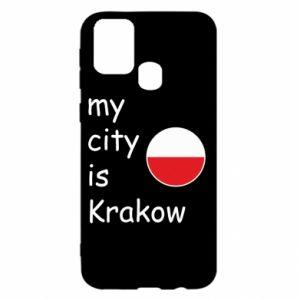 Etui na Samsung M31 My city is Krakow