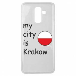 Etui na Samsung J8 2018 My city is Krakow