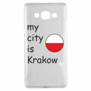 Etui na Samsung A5 2015 My city is Krakow