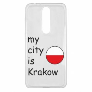 Etui na Nokia 5.1 Plus My city is Krakow