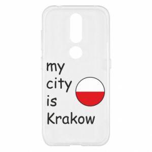 Etui na Nokia 4.2 My city is Krakow