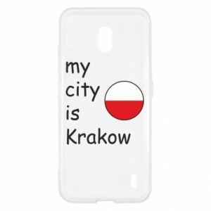 Etui na Nokia 2.2 My city is Krakow