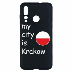 Etui na Huawei Nova 4 My city is Krakow