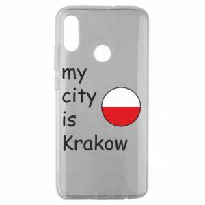 Etui na Huawei Honor 10 Lite My city is Krakow