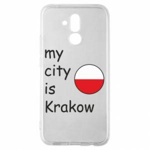 Etui na Huawei Mate 20 Lite My city is Krakow