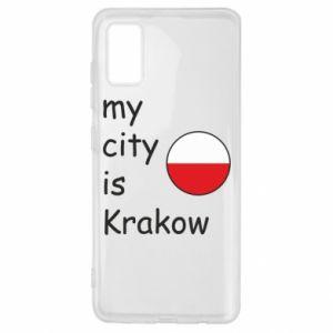 Etui na Samsung A41 My city is Krakow