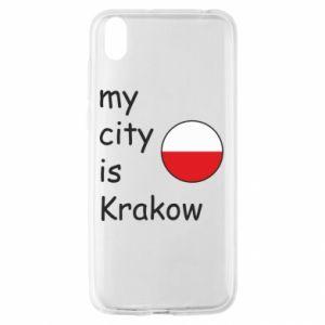 Etui na Huawei Y5 2019 My city is Krakow