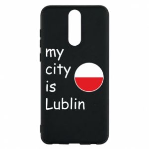 Etui na Huawei Mate 10 Lite My city is Lublin