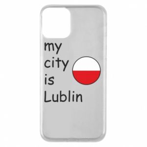 Etui na iPhone 11 My city is Lublin