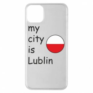 Etui na iPhone 11 Pro Max My city is Lublin