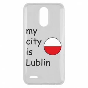 Etui na Lg K10 2017 My city is Lublin