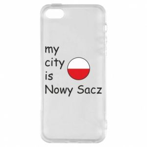 iPhone 5/5S/SE Case My city is Nowy Sacz
