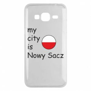 Etui na Samsung J3 2016 My city is Nowy Sacz