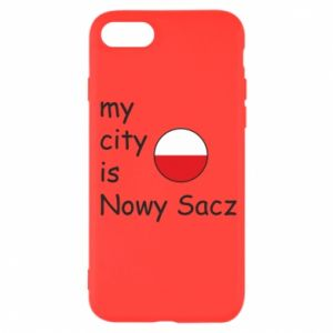 iPhone SE 2020 Case My city is Nowy Sacz