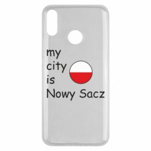 Huawei Y9 2019 Case My city is Nowy Sacz